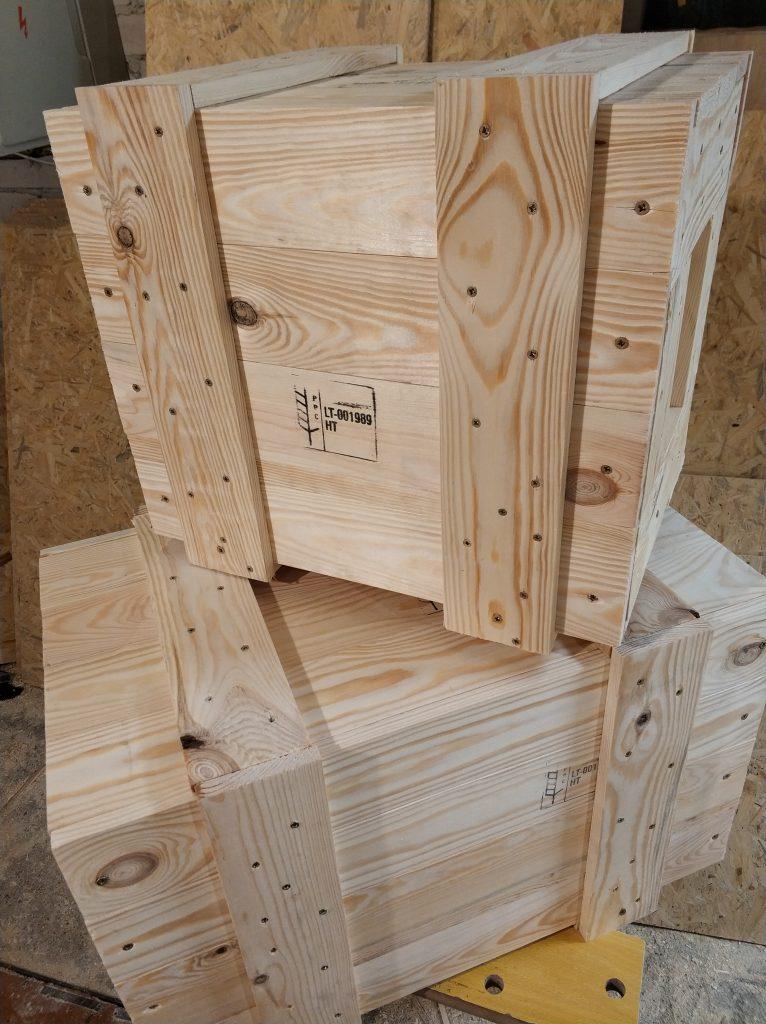 Medinių pakuočių gamyba